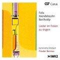 Lieder im Freien zu singen - Frieder/Kammerchor Stuttgart Bernius