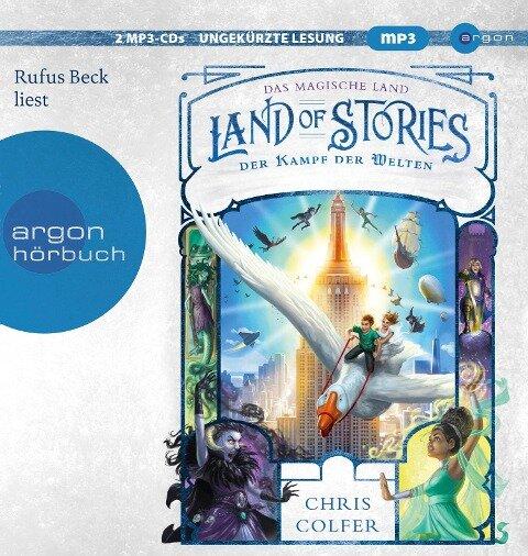 Land of Stories: Das magische Land 6 - Der Kampf der Welten - Chris Colfer