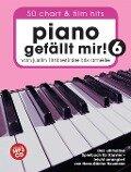 Piano gefällt mir! 50 Chart und Film Hits - Band 6 -Von Justin Timberlake bis Amélie - Das ultimative Spielbuch für Klavier- (Book & CD) - Hans-Günter Heumann