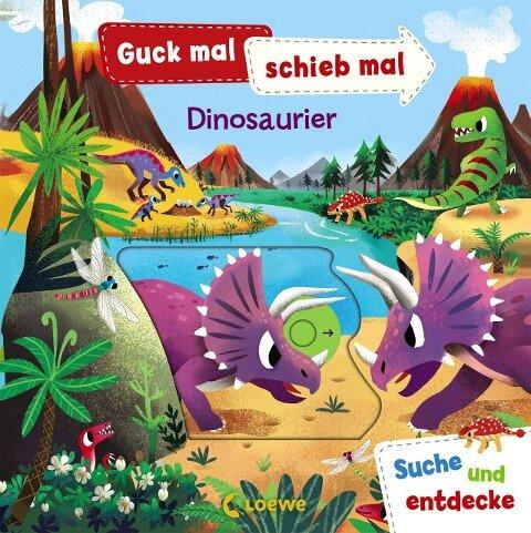 Guck mal, schieb mal! Suche und entdecke - Dinosaurier -