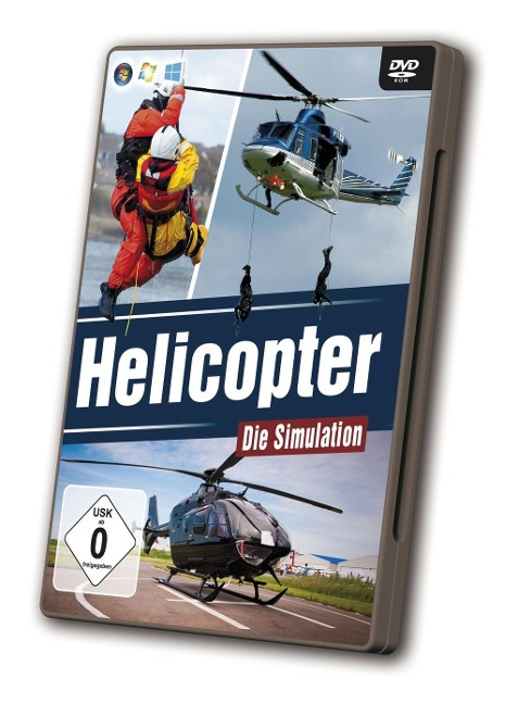 Helicopter Die Simulation -