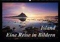 Island - Eine Reise in BildernCH-Version (Wandkalender 2019 DIN A2 quer) - Manuela Kägi