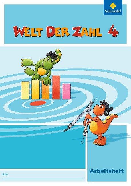 Welt der Zahl 4. Arbeitsheft. Hessen, Rheinland-Pfalz und Saarland -