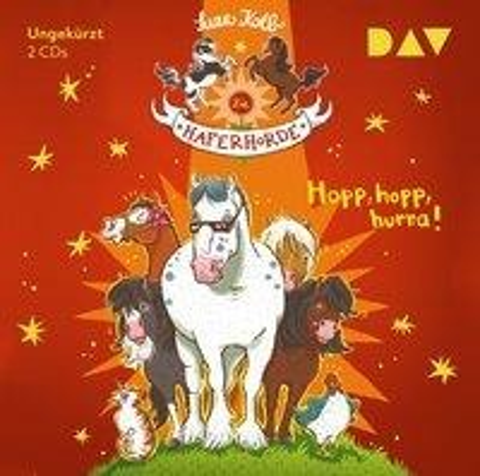 Die Haferhorde 06: Hopp, hopp, hurra! - Suza Kolb