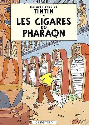 Les Aventures de Tintin 04. Les cigares du pharaon - Herge