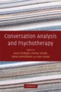 Conversation Analysis and Psychotherapy -