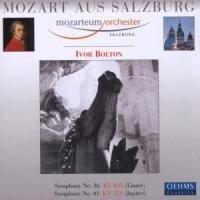 Sinfonie 36 & 41 (Linzer/Jupiter) - Ivor/Mozarteum Orchester Salzburg Bolton