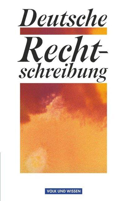 Deutsche Rechtschreibung -
