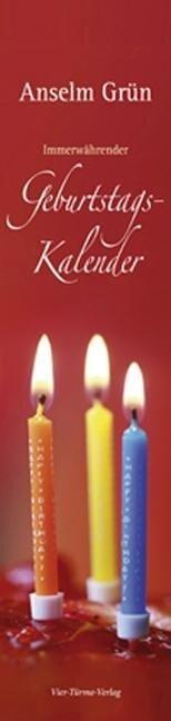 Immerwährender Geburtstagskalender - Anselm Grün