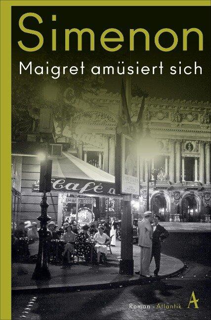 Maigret amüsiert sich - Georges Simenon