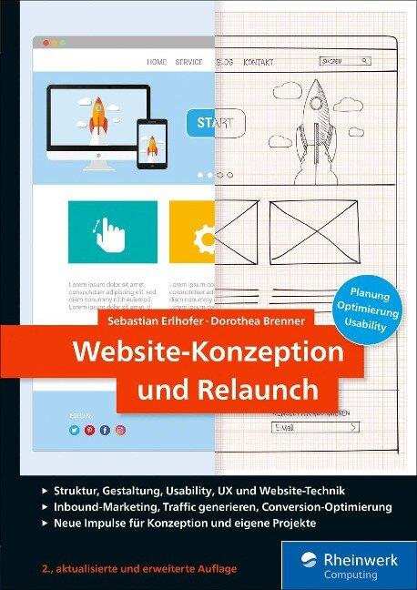 Website-Konzeption und Relaunch - Sebastian Erlhofer, Dorothea Brenner
