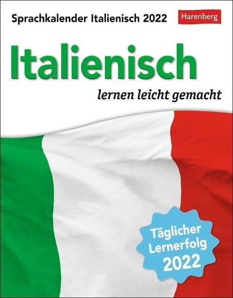 Sprachkalender Italienisch - Kalender 2022 - Tiziana Stillo, Steffen Butz