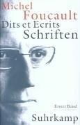 Schriften in vier Bänden - Dits et Ecrits 1. 1954 - 1969 - Michel Foucault