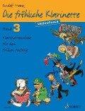 Die fröhliche Klarinette. Band 3. Lehrbuch. - Rudolf Mauz