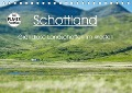 Schottland - grandiose Landschaften im Westen (Tischkalender 2018 DIN A5 quer) - Anja Schäfer