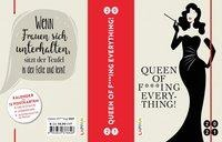 Queen of f***ing everything! 2021: Buch- und Terminkalender -