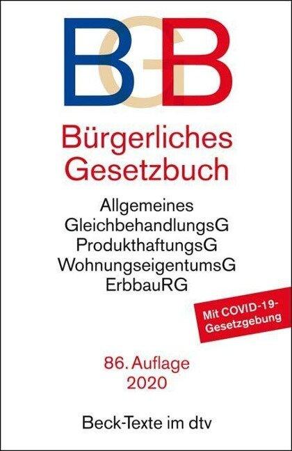 Bürgerliches Gesetzbuch BGB -