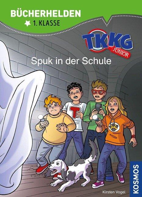 TKKG Junior, Bücherhelden 1. Klasse, Spuk in der Schule - Kirsten Vogel