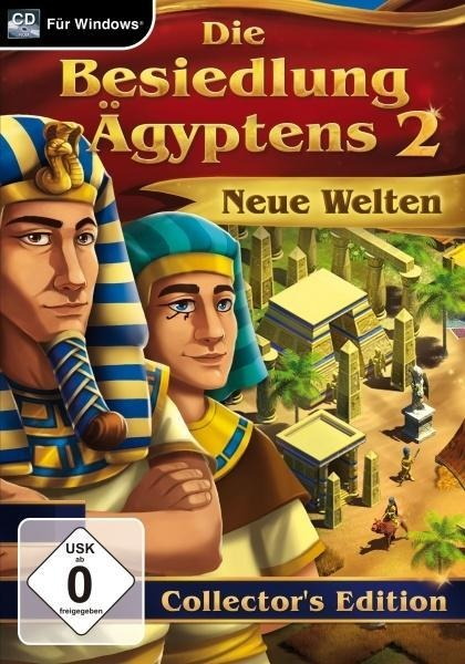 Die Besiedlung Ägyptens 2 - Collectors Edition. Für Windows Vista/7/8/8.1/10 -