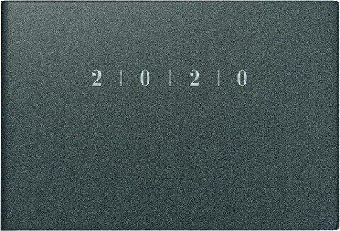 rido Taschenkalender 2020 Septimus Reflection grau -