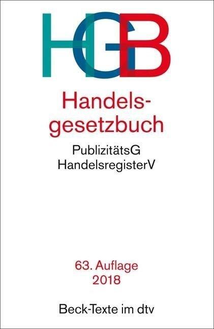 Handelsgesetzbuch - HGB -