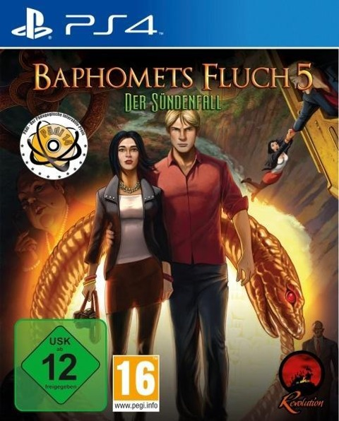 Baphomets Fluch 5. Premium Edition (PlayStation PS4) -
