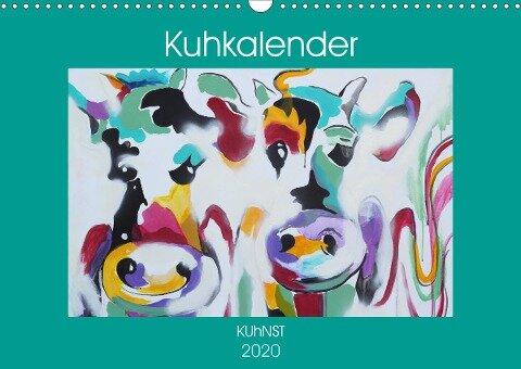 Kuhkalender (Wandkalender 2020 DIN A3 quer) - Elena Ennikova