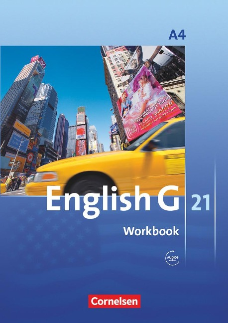 English G 21. Ausgabe A 4. Workbook mit Audios online - Jennifer Seidl, Susan Abbey