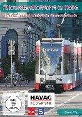 Halle - Die längste Straßenbahnlinie Ostdeutschlands - Linie 5 der HAVAG - Führerstandsmitfahrt -