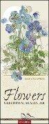 Jane Crowther - Geburtstagskalender Flowers -
