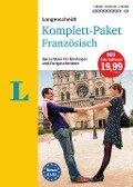Langenscheidt Komplett-Paket Französisch - Sprachkurs mit 2 Büchern, 8 Audio-CDs, 1 DVD-ROM, MP3-Download -