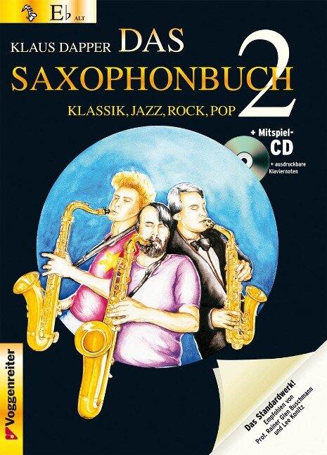 Das Saxophonbuch 2, Version Eb (Alt-/Baritonsax.) -