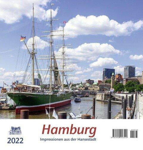 Hamburg 2022 Postkartenkalender -