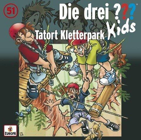 Die drei ??? Kids 51. Tatort Kletterpark (drei Fragezeichen) CD - Ulf Blanck