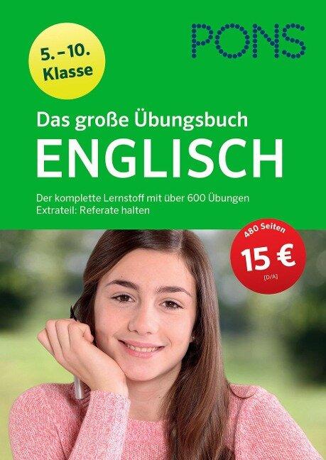 PONS Das große Übungsbuch Englisch 5.-10. Klasse -