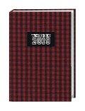 Karo 17-Monats-Kalenderbuch A6 - 2019 -