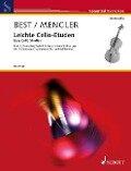 Leichte Cello-Etüden -