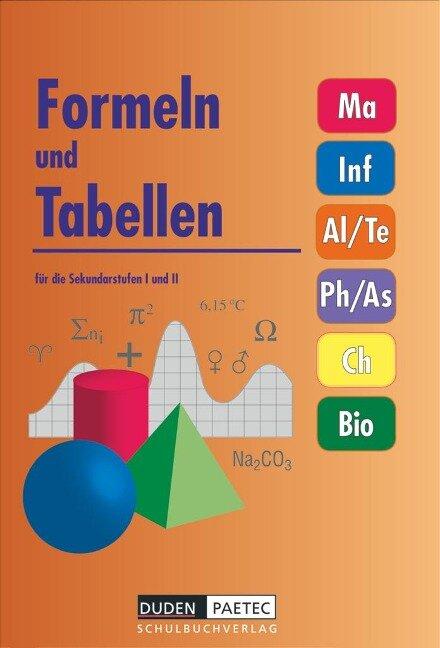 Formeln und Tabellen für die Sekundarstufen I und II -