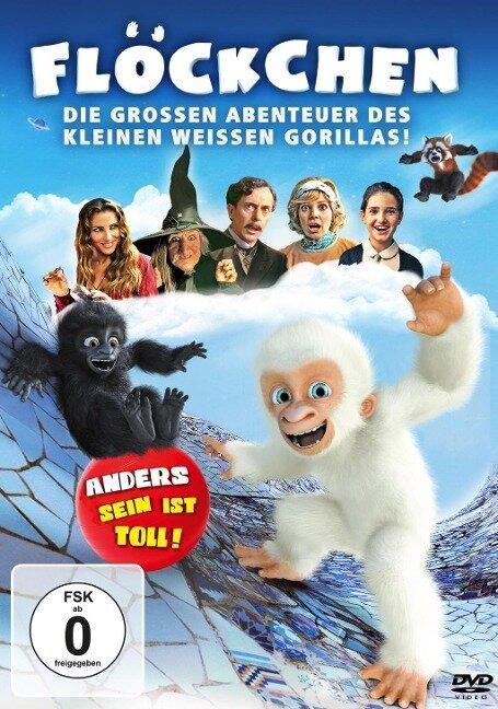 Flöckchen - Die grossen Abenteuer des kleinen weissen Gorillas - Amèlia Mora, Albert Val, Zacarías M. de la Riva