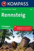 Kompass Wanderführer Rennsteig - Klaus Harnach, Falco Harnach