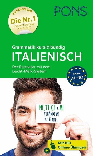 PONS Grammatik kurz & bündig Italienisch -