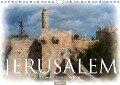 Jerusalem à la aquarell (Wandkalender 2018 DIN A4 quer) - Olaf Bruhn
