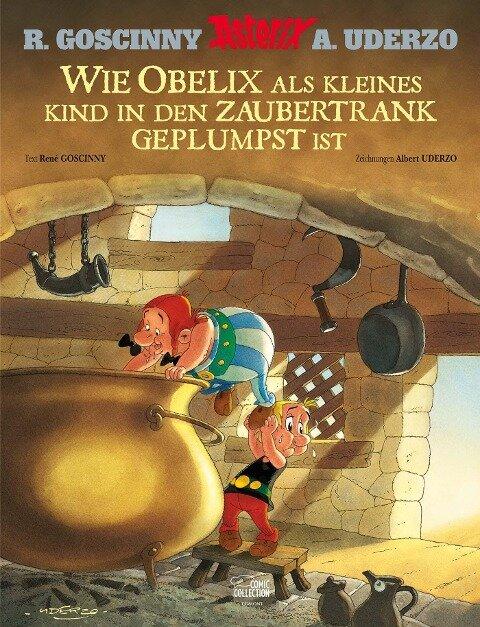 Asterix: Wie Obelix als kleines Kind in den Zaubertrank geplumpst ist - René Goscinny, Albert Uderzo