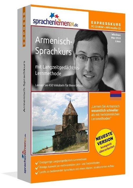 Sprachenlernen24.de Armenisch-Express-Sprachkurs. CD-ROM -