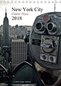 New York City 2018 . Classic Views (Tischkalender 2018 DIN A5 hoch) - © Mirko Weigt