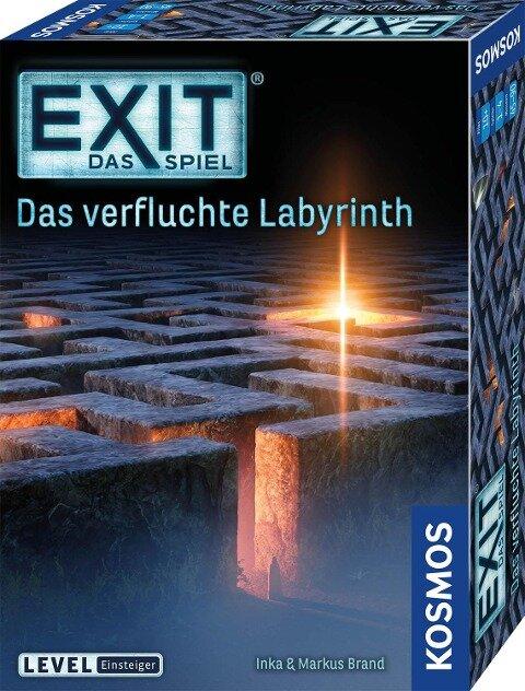 EXIT - Das verfluchte Labyrinth - Inka Brand, Markus Brand