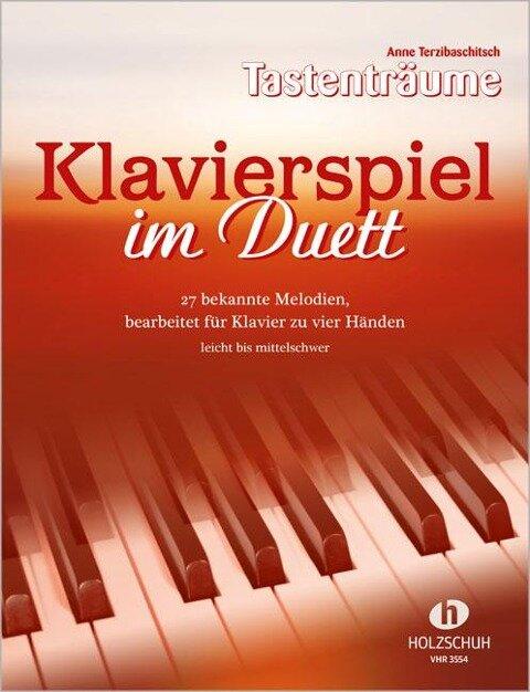 Klavierspiel im Duett - Anne Terzibaschitsch