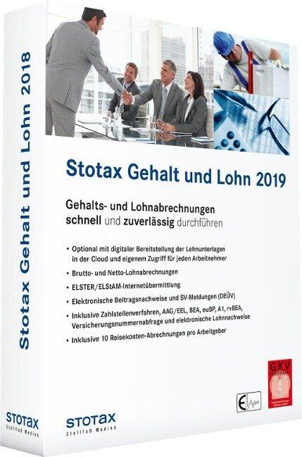 Stotax Gehalt und Lohn 2019 -