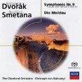 Sinfonie 9/Die Moldau/+(SACD) - Christoph Von/Cleo Dohnanyi
