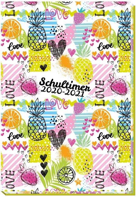 Schülerkalender Trötsch Fruits 2020/2021 -